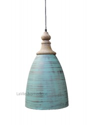 Hanglamp Antic Green
